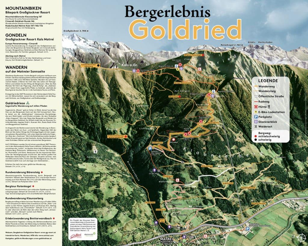Bergerlebnis Goldried